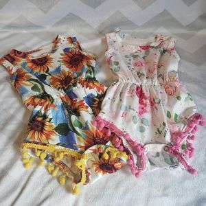 Other - Baby girl Boutique onsies